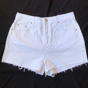 Topshop mom shorts size 12
